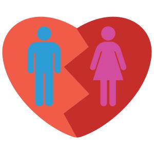 Male Female broken heart (1)