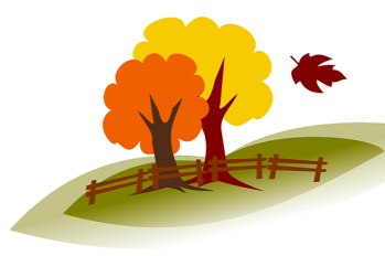 Fall clipart cropped