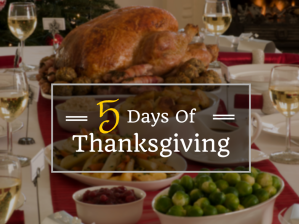 5days of thanksgiving